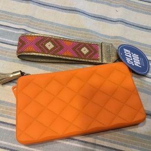 Kate Landry Wristlet, Cosmetic Bag Water proof